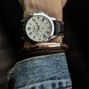 Photo of Brown leather bracelet